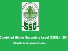 ssc chsl 2018 results
