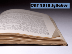 cat 2018 syllabus