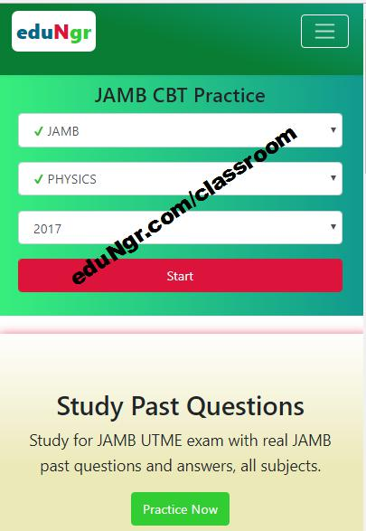 JAMB CBT practice app