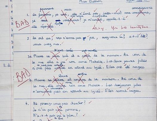 Exam Answers Sheet