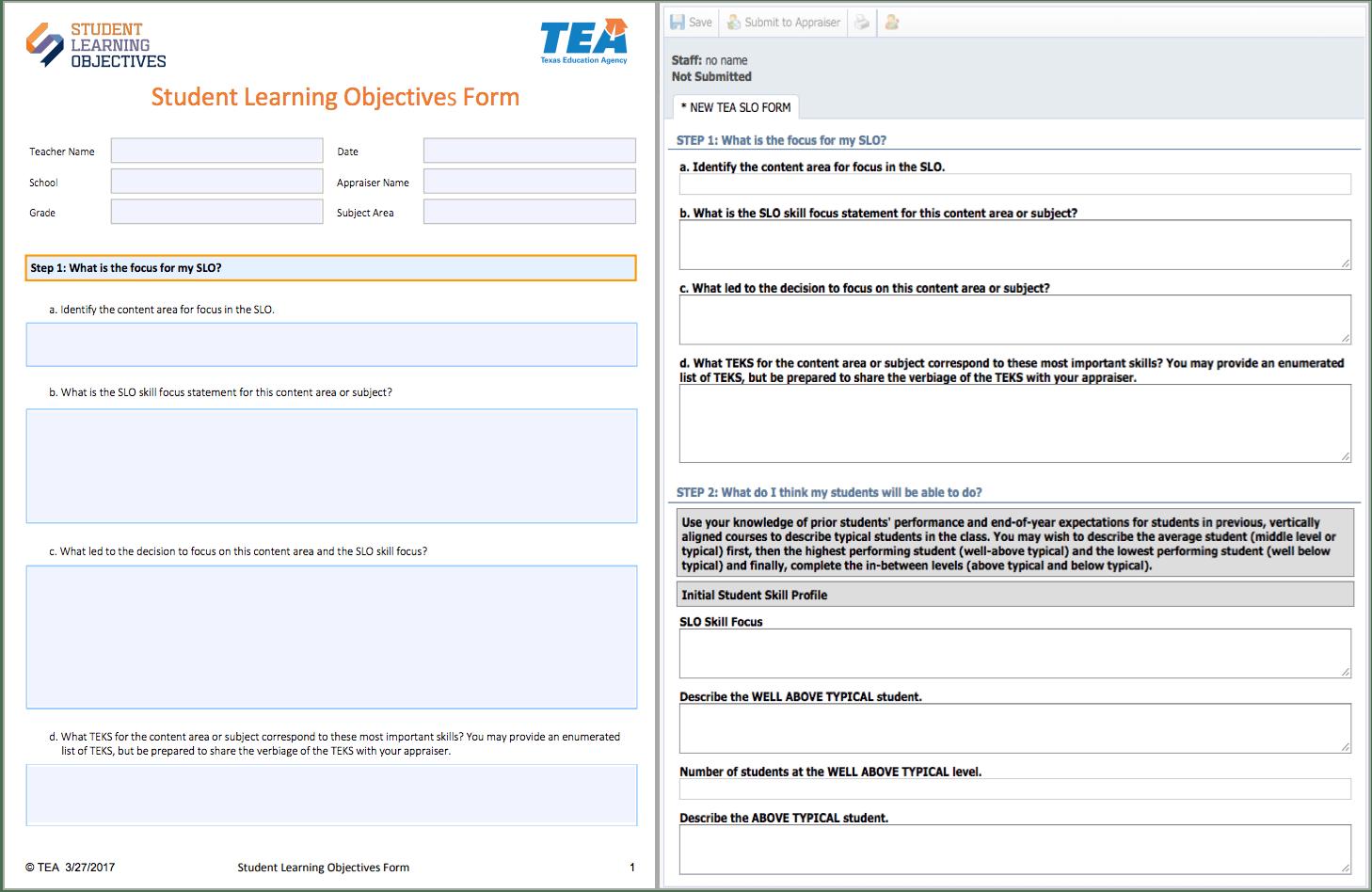 Using Eduphoria For The Tea Slo Model Eduphoria