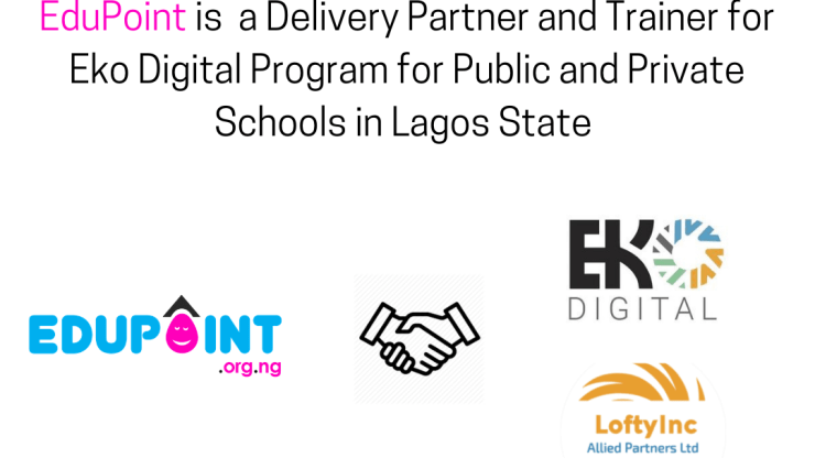 EduPoint to Train 30,000 Primary and Secondary School Students in the Eko Digital Program for Lagos State students.