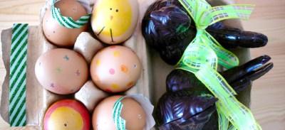 Fête de Pâques en famille