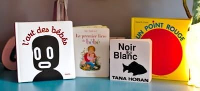 Sélection de livres pour bébés