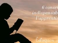 Les 6 conseils sur l'apprentissage à retenir des meilleurs livres d'éducation !