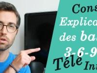 [Vidéo] Télé, Console, Internet : Explication des balises 3-6-9-12