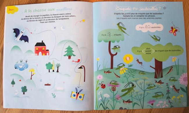 Magazine nature - La petite salamandre - Jeux