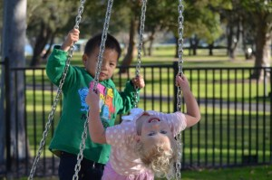 jouer au parc