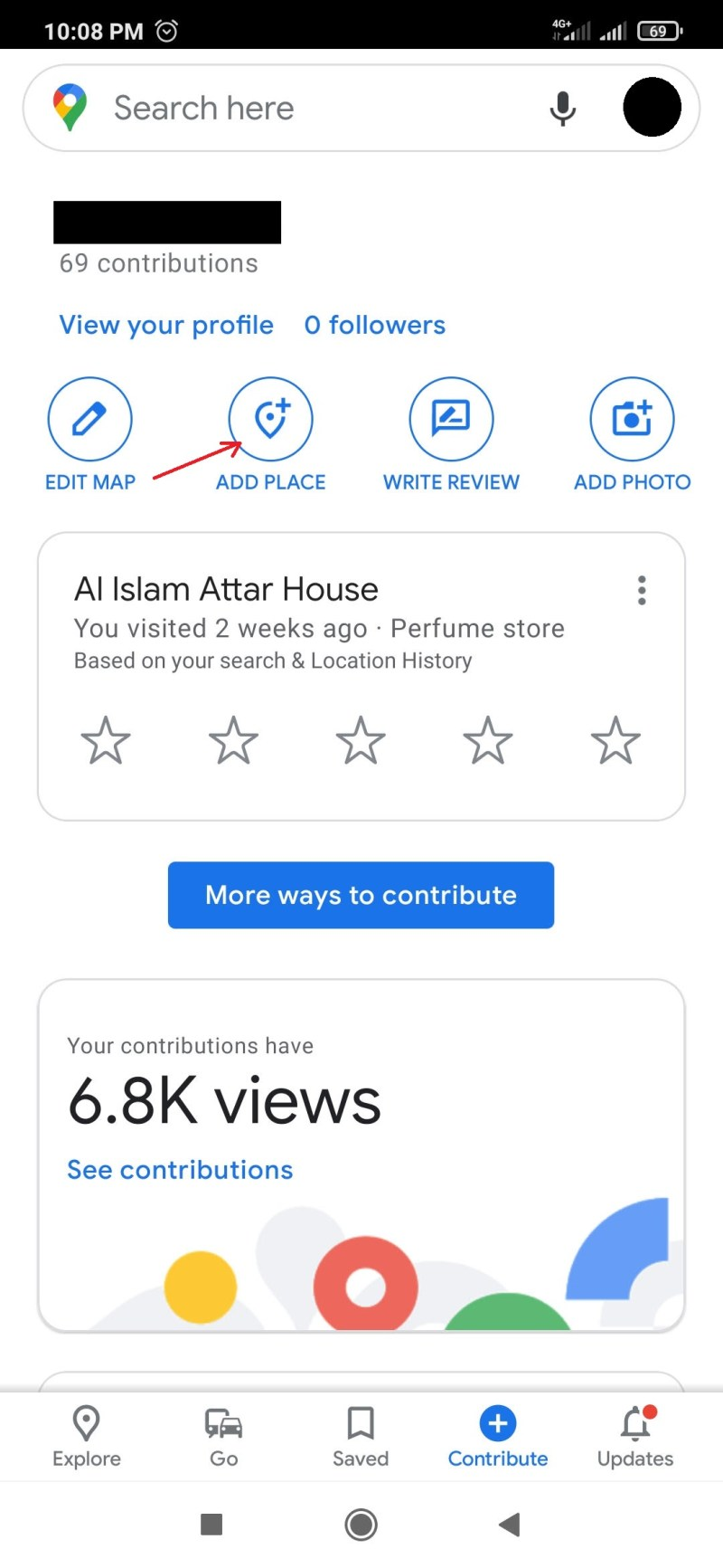 Add Place in Google Map
