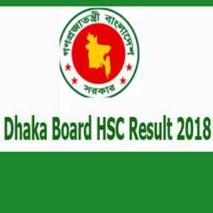 Dhaka Board HSC Result 2018 dhakaeducationboard.gov.bd