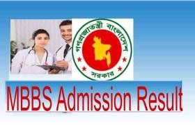 Medical Admission Result 2019