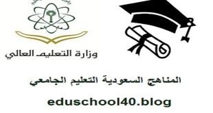 الخطة الدراسية كلية هندسة وعلوم الحاسب المستوى الثاني جامعة الامير سطام بن عبد العزيز