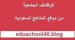 كلية الهندسة فرع رابغ تعلن عن توفر وظائف معيد بالجامعة