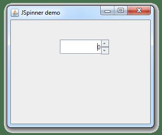 طريقة إضافة JSpinner في ال JFrame في جافا