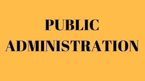 Public Administration Course Code