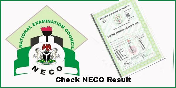 NECO GCE Exam Result