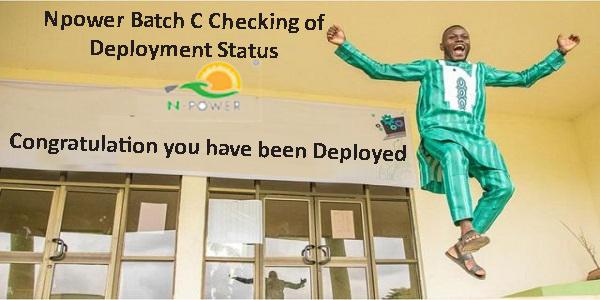 Npower Batch C Checking of Deployment Status