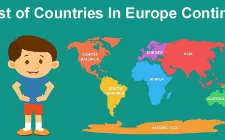 List Of Countries In Europe Continent