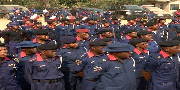 NSCDC shortlisted candidate