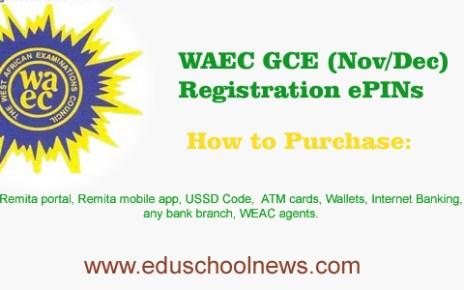 How to Purchase WAEC GCE Registration ePINs