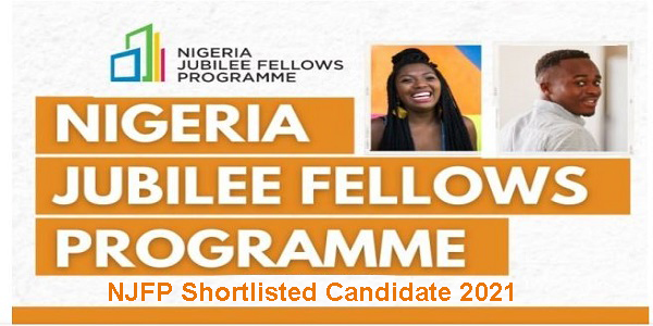 NJFP Shortlisted Candidate