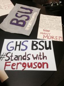 BSU signs