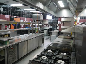 Excellent kitchen facilities at KDU University College Penang