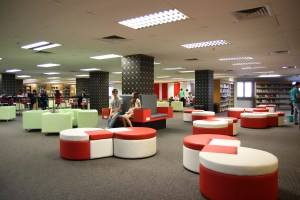 KDU's well equipped library