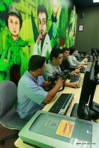 3D Animation lab at UCSI University