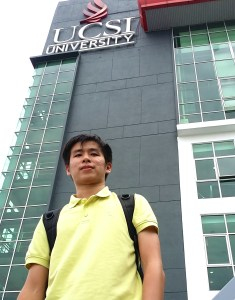 EduSpiral helped me to transfer my credits from TARC into the business degree. They even picked me up from the bus station to check into my hostel. Jayden Cheah, from Pangkor studying Business at UCSI University