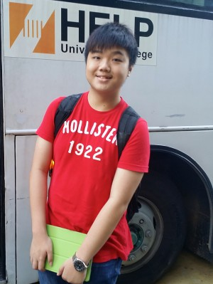 After chatting with EduSpiral on Facebook, I knew which course and university to join. They even picked me up from KL Sentral to drop me off at my hostel. Dexter Leung, A-Levels at HELP University