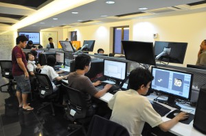 University of Wollongong Malaysia (UOWM) KDU offers the degree in Games Development. Students have access to Alienware in their Game Lab.