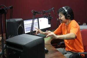 Recording Studio at HELP University for their Communication Degree students