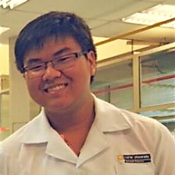 Ng Kai Chun at Chem Lab