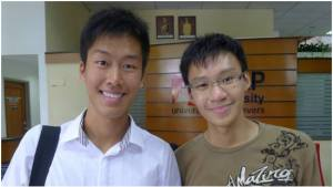 Ang Chee Chyuan (right) scored 4 A* in Biology, Chemistry, Physics and Maths; he will study Engineering at Monash University Calvin Yeoh Kai Yuan (left) was offered admission to 4 top universities: Imperial College London, University College London, Oxford University and Stanford University. He has chosen Stanford, where he will study Economics on a Bank Negara scholarship. Calvin scored A* in Physics