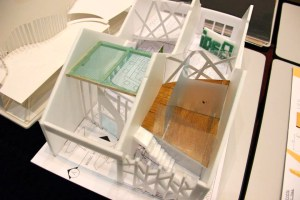 Architecture student's project at UCSI University