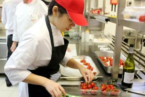 Culinary students at have a wide range of hotels & restaurants to do their internships or practical.