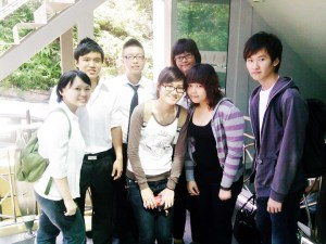 Paul, second from left, with his class mates including one from Taiwan. UCSI has students from all over the world giving you an international environment that will enhance your study experience as well as networking opportunities.