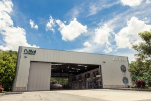 Nilai University is the only institution with its own Hangar and airplanes for her students to work on for the Diploma in Aircraft Maintenance Engineering