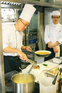 HELP CAT has highly experienced chefs to share their knowledge with the students