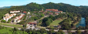 Nilai University Aerial View of the 105-acre campus
