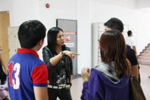 KDU students are full of questions to the famous actress