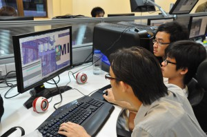 KDU Game Technology students