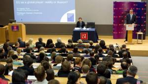 The London School of Political Science and Economics (LSE) Auditorium