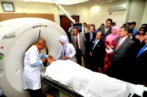 UCSI University Medical Students undergo their clinical training at the Sultanah Nur Zahirah Hospital in Terengganu