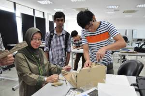 UCSI University architecture students during orientation