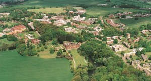 Keele University is set in over 600 acres of parkland, the University is within an hour's drive of Manchester and Birmingham