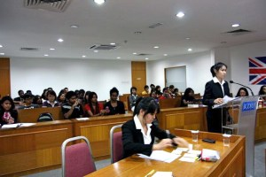Moot Court at KDU University College