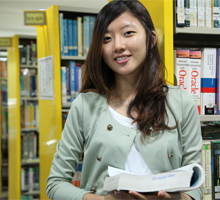 Kim Eun Jin, top A-Levels student from South Korea at UCSI University