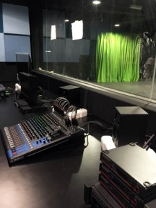 TV Control Room at KDU University College new campus at Utropolis Glenmarie